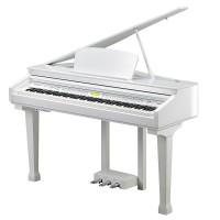 פסנתר כנף חשמלי לבן