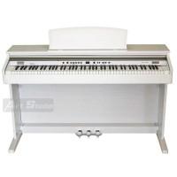 פסנתר חשמלי מזרחי לבן