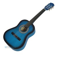 גיטרה קלאסית בצבע ים