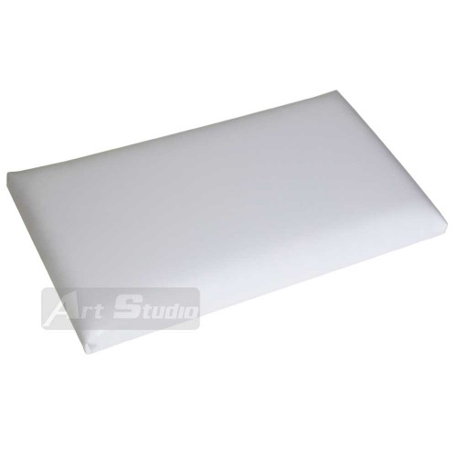 פד לכסא פסנתר, PVC לבן
