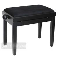 כסא לפסנתר, שחור מט