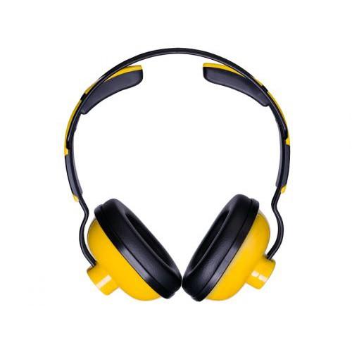 אוזניות סגורות צבע: צהוב